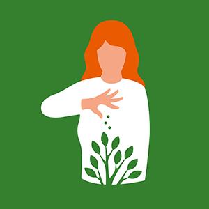 Spenden hilft Illustration: FCicoolella Diakonie